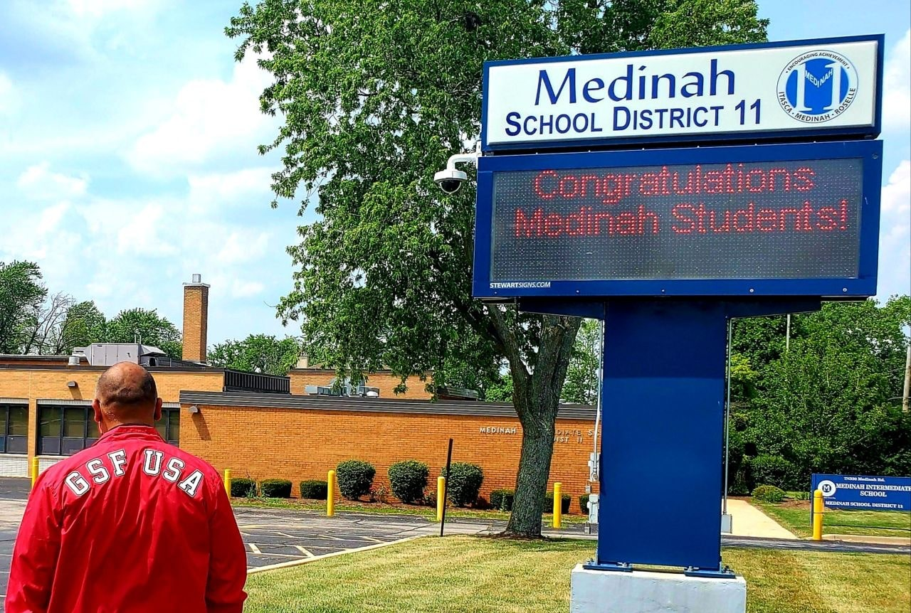 GSF Supports Healthy Learning at Medinah School District